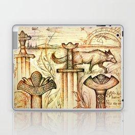 Szőtt tánc a Föld és az Ég Laptop & iPad Skin