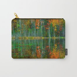 Forest and Lake Reflection Carry-All Pouch