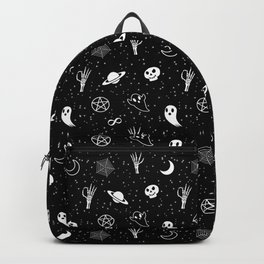 Halloween Black and White Theme Backpack