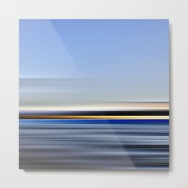 horizonte amarillo - seascape no.13 Metal Print