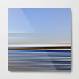 horizonte amarillo - seascape no.13 Metal Print