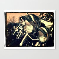 harley Canvas Prints featuring 'Harley' by Janet Grainger