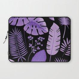Purple leaves Laptop Sleeve