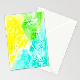 Resist Leaves Stationery Cards