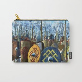 Medieval Army in Battle Carry-All Pouch