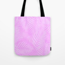 Palm Leaves - Orchid Pink Tote Bag