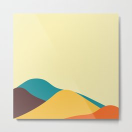 Abstract landscape design.  Metal Print