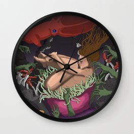 PTSD: Night Terrors Wall Clock