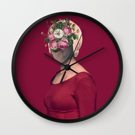 Silent no longer / Handmaid Wall Clock