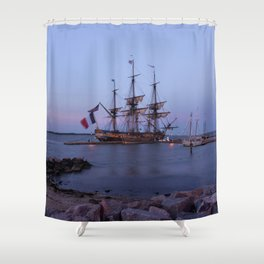 Lafayette's Hermione Shower Curtain