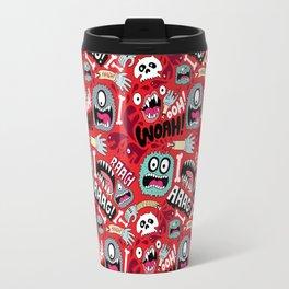 AAAGHHH! PATTERN! Travel Mug