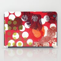 polka dot iPad Cases featuring Polka-Dot by Liz Belen