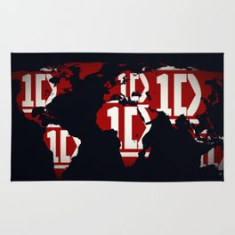ONE DIRECTION LOGO Rug