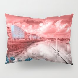Red Harbouring  Pillow Sham