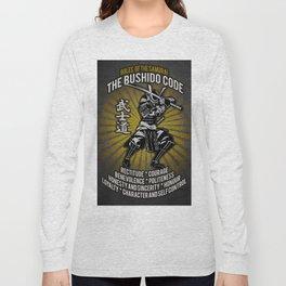 Samurai Bushido Code, Ronin, Musashi Long Sleeve T-shirt