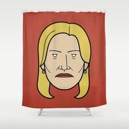 Face of Breaking Bad: Skyler White Shower Curtain