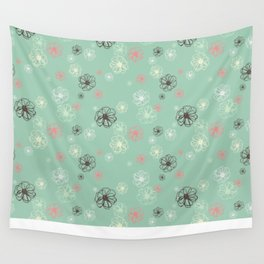 Poised Posies by Deirdre J Designs Wall Tapestry