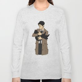 Castiel's Cat Long Sleeve T-shirt