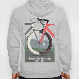 Tour De France Bicycle Hoody