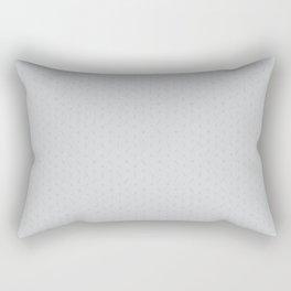 Claymore 7 Pattern - Light Grey Rectangular Pillow