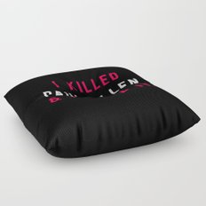 American Psycho - I killed Paul Allen. And I liked it. Floor Pillow