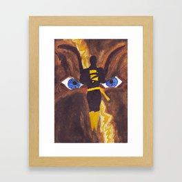 The Mad God of Khandaq Framed Art Print