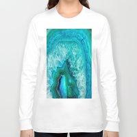 geode Long Sleeve T-shirts featuring Geode by Jenna Davis Designs