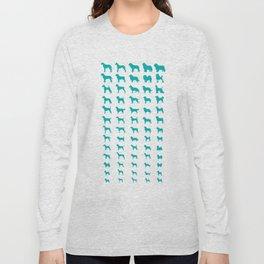 All Dogs (Aqua) Long Sleeve T-shirt