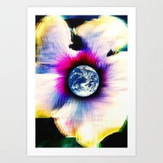 WORLD TURNS Art Print