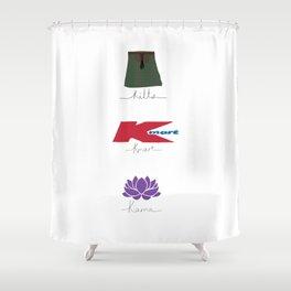 Karma Shower Curtain
