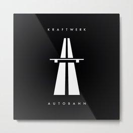 Autobahn kraftwerk Metal Print