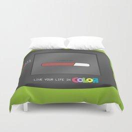 Gameboy Color (green) Duvet Cover