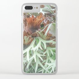 Ethereal Elkhorn Clear iPhone Case