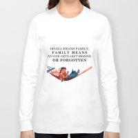 ohana Long Sleeve T-shirts featuring Ohana by Dani Aviles