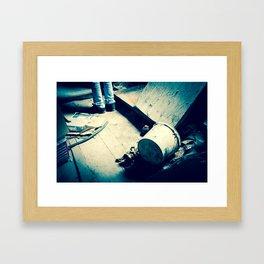 un-human Framed Art Print