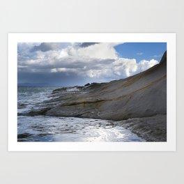 Winter Sea_2 Art Print