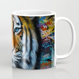 Tiger of Hosier Lane Coffee Mug