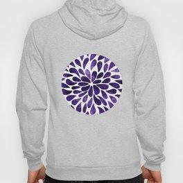 Petal Burst Ultra Violet Hoody