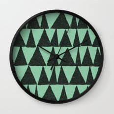 Analogous Shapes. Wall Clock