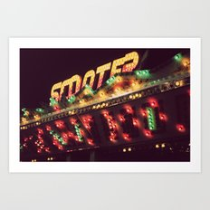 All The Pretty Lights - I Art Print