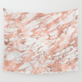 Blush Gold Quartz Wall Tapestry