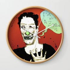 Not a Zombie Wall Clock