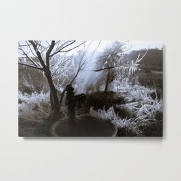 Water, In Life And Death Metal Print
