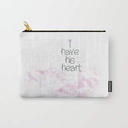 I have his heart Carry-All Pouch