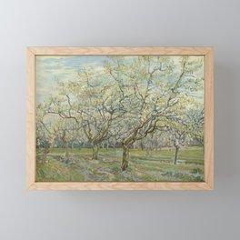 The White Orchard Framed Mini Art Print