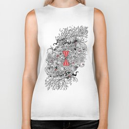 10 of Diamonds Biker Tank