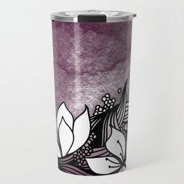Flower Tangle Travel Mug