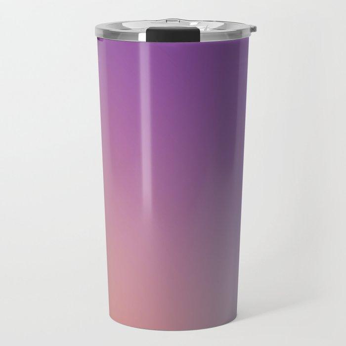 GUILTY  CONSCIENCE - Minimal Plain Soft Mood Color Blend Prints Travel Mug