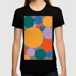 Circles of dreams - Mid Century Modern Print, Original Art, Extra Large Wall Art, Mid Century Print, T-shirt