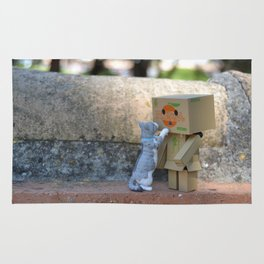 Danbo and cat #11 Rug